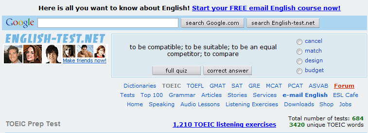 ENGLISH TESTS - ONLINE